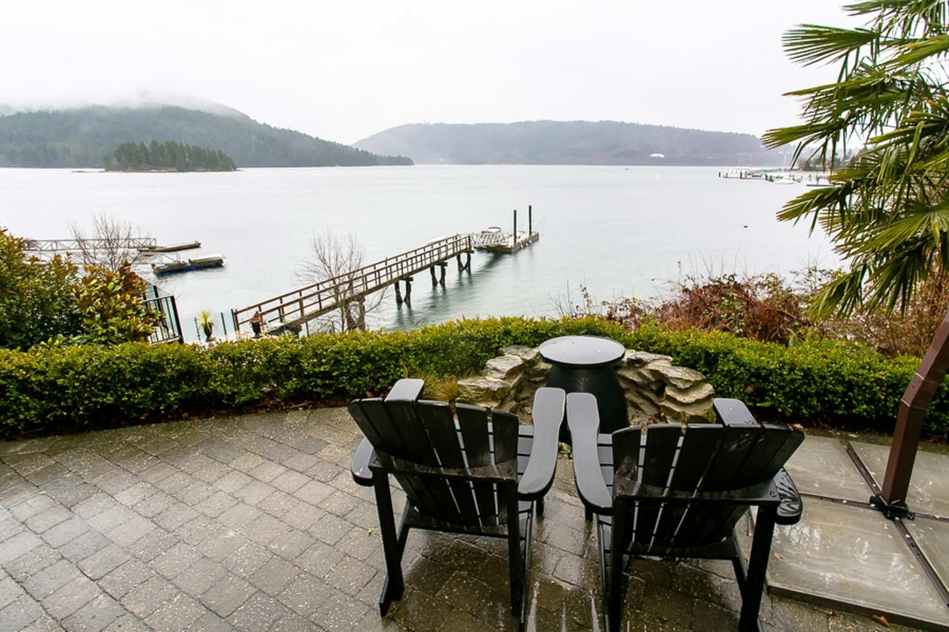 Patio at Address Upon Request, Deep Cove, North Vancouver