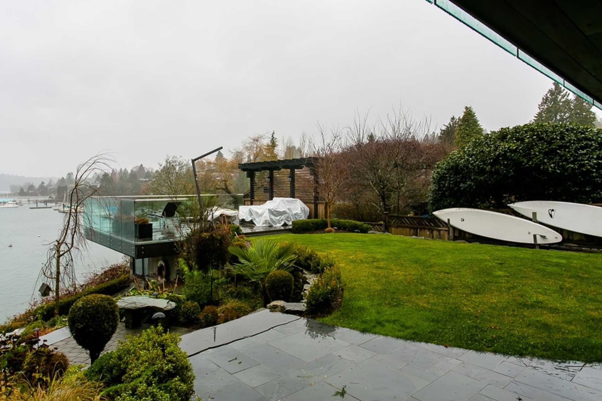 Garden at Address Upon Request, Deep Cove, North Vancouver