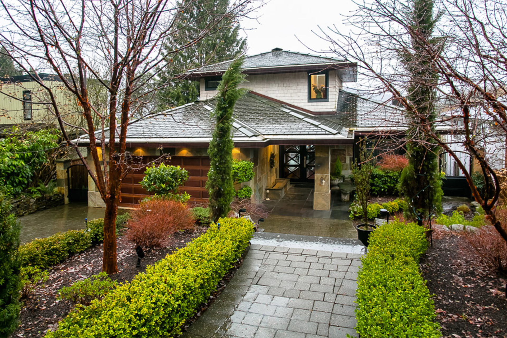 Entrance at Address Upon Request, Deep Cove, North Vancouver