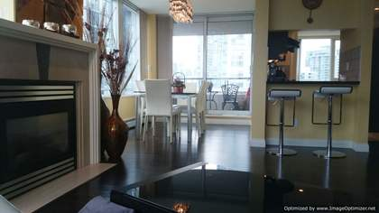 Living Room at 1005 - 1383 Marinaside, Yaletown, Vancouver West