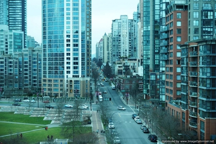 View at 1005 - 1383 Marinaside, Yaletown, Vancouver West