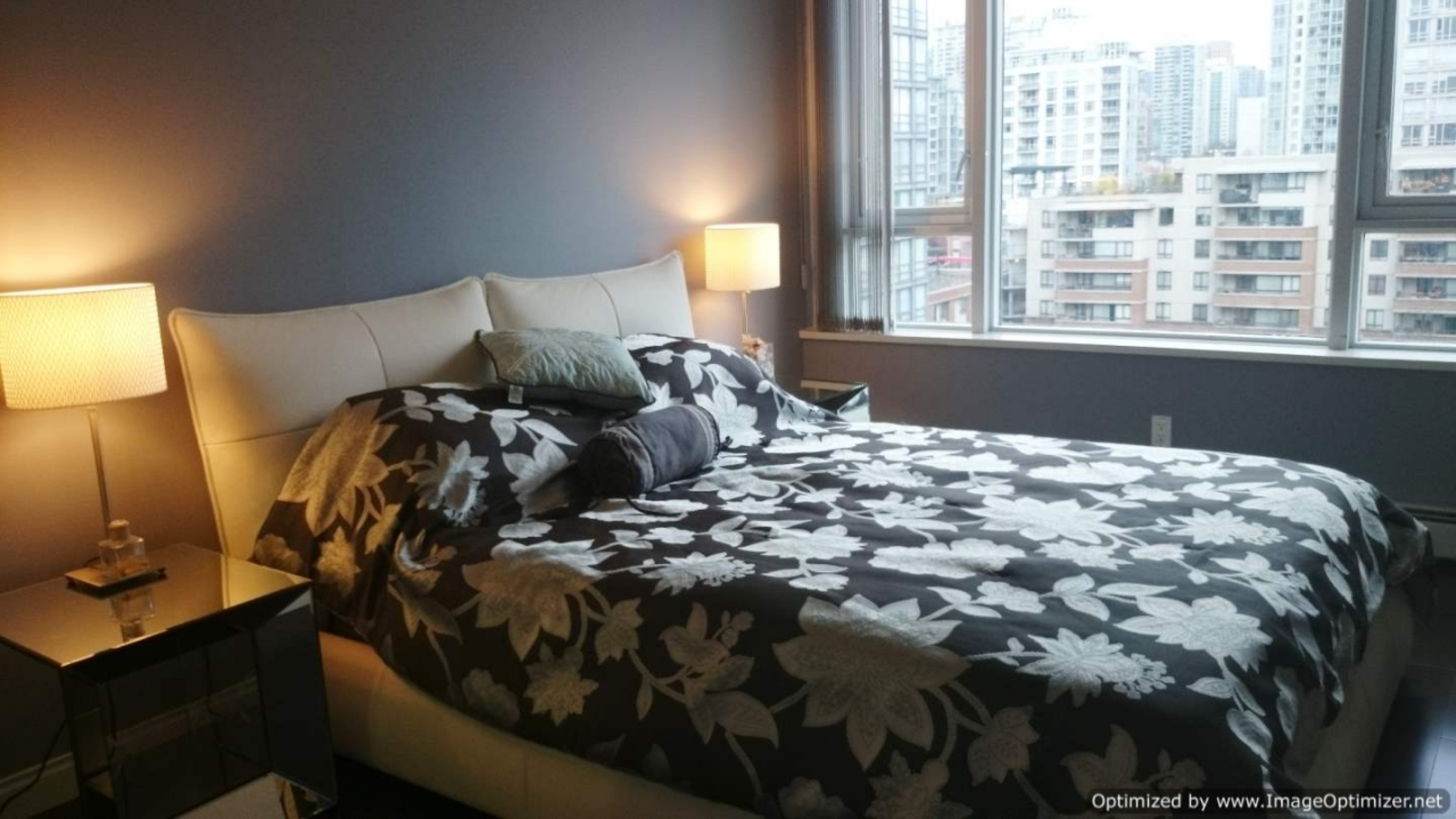 Bedroom at 1005 - 1383 Marinaside, Yaletown, Vancouver West