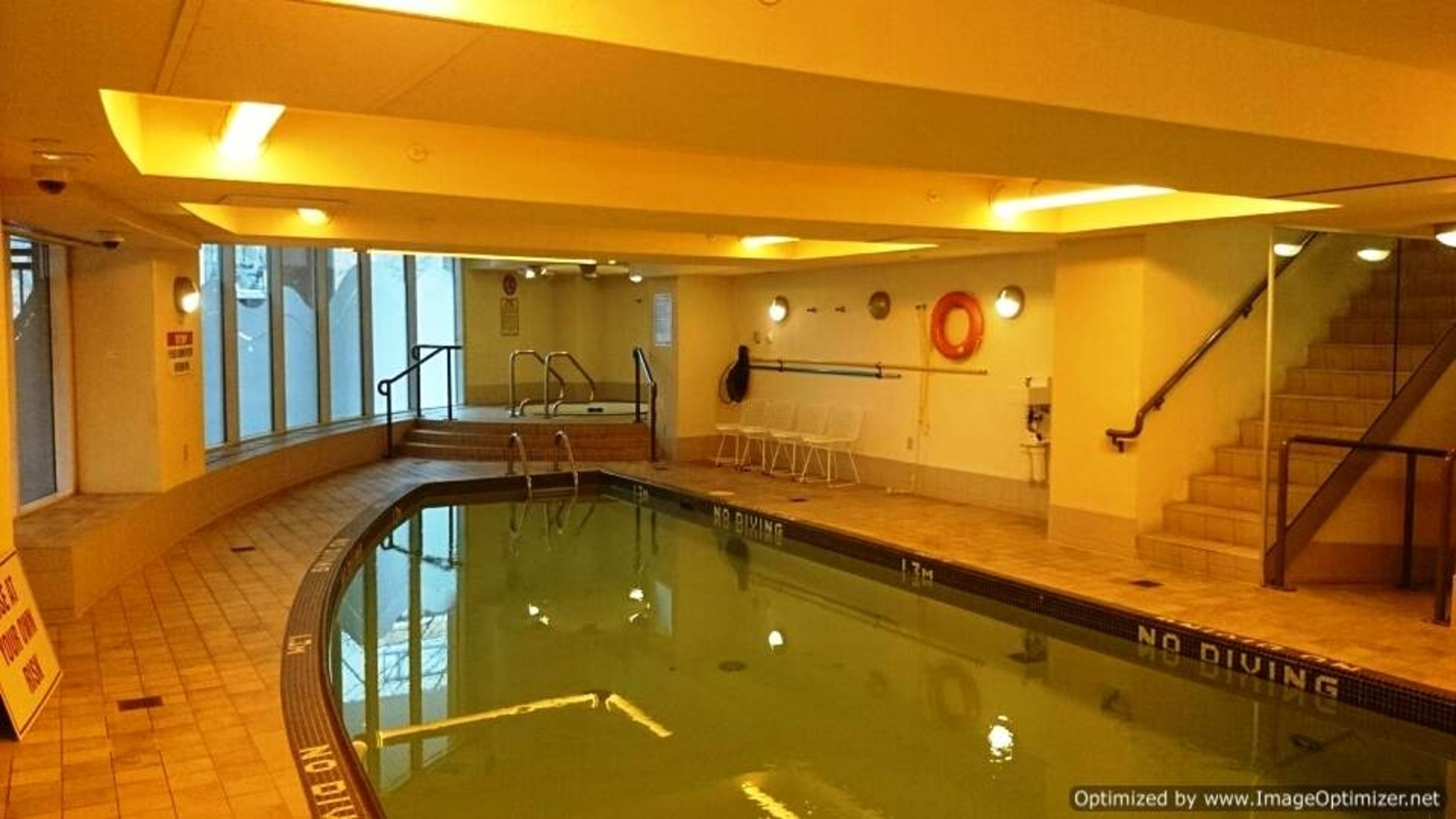 Indoor Pool at 1005 - 1383 Marinaside, Yaletown, Vancouver West