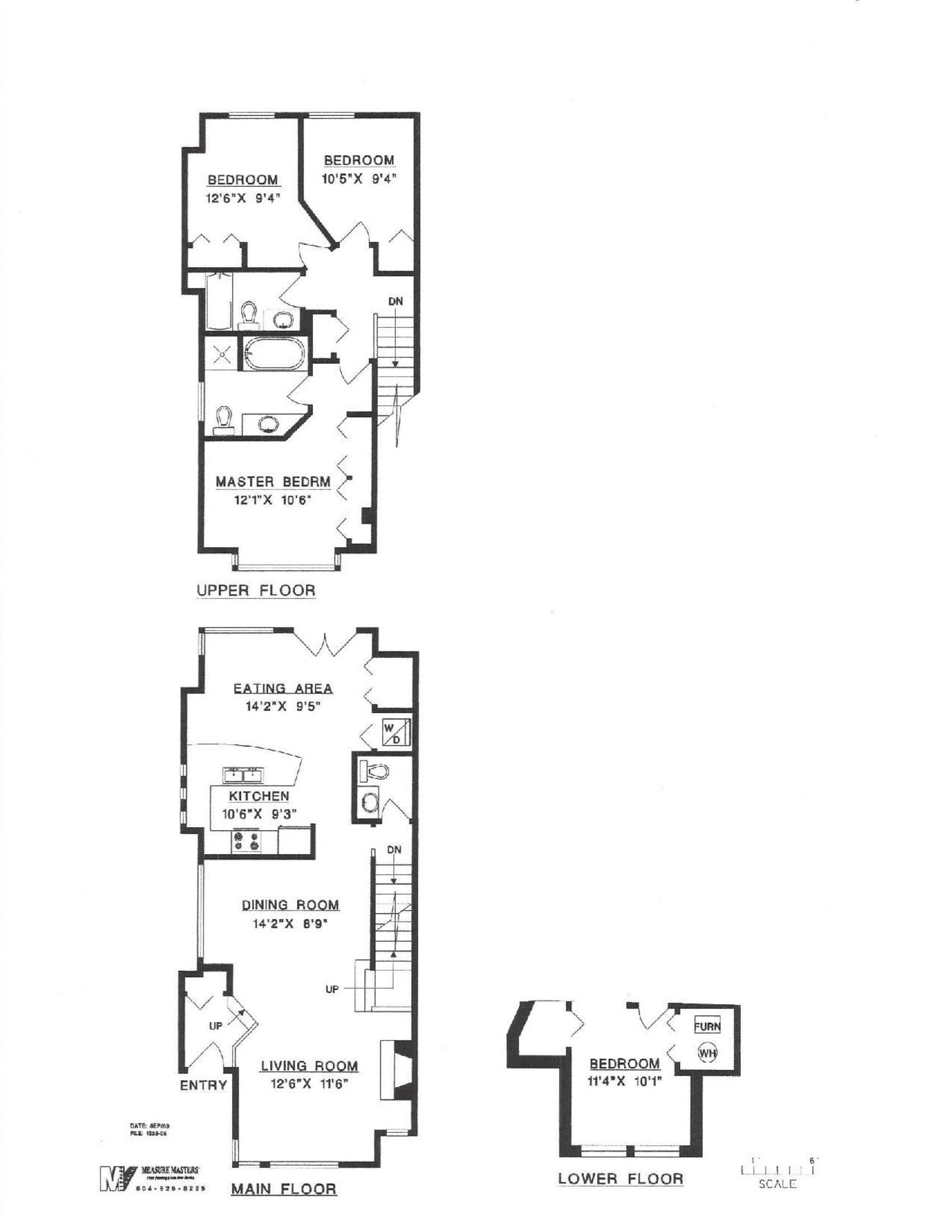 Floor plan at 6364 Douglas Street, Horseshoe Bay WV, West Vancouver