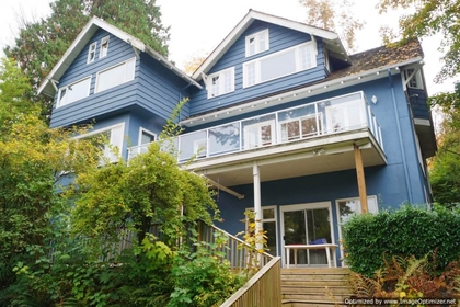 Rear at 1589 Marpole Avenue, Vancouver West