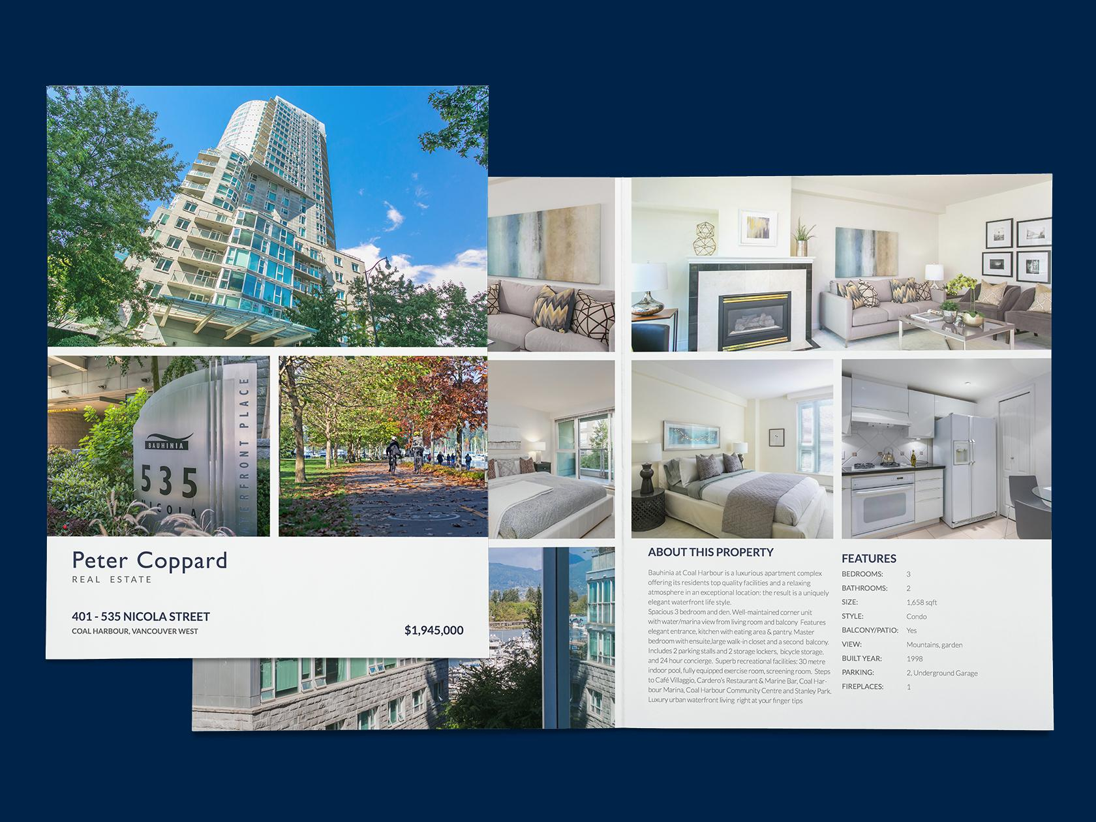 Custom Property Brochures & Floor Plans