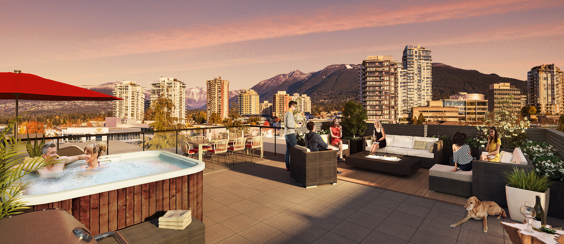 gallery-renderings-roofdeck at 302 - 150 E 8th Ave, Vancouver, Bc V5t 1r7, Central Lonsdale, North Vancouver