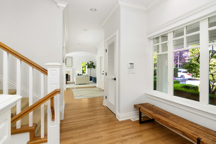 Entryway at 4682 Decourcy Court, Caulfeild, West Vancouver