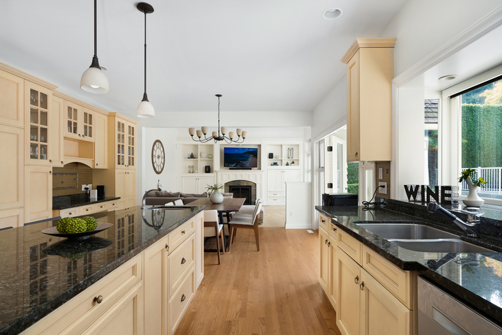 Kitchen at 4682 Decourcy Court, Caulfeild, West Vancouver