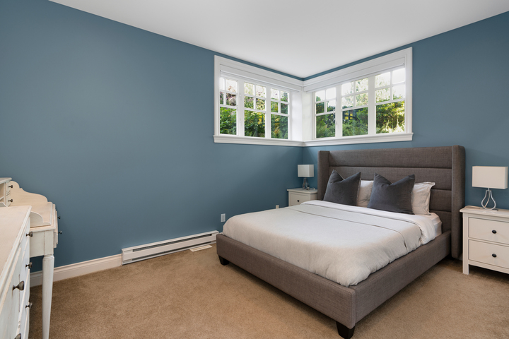 Bedroom at 4682 Decourcy Court, Caulfeild, West Vancouver