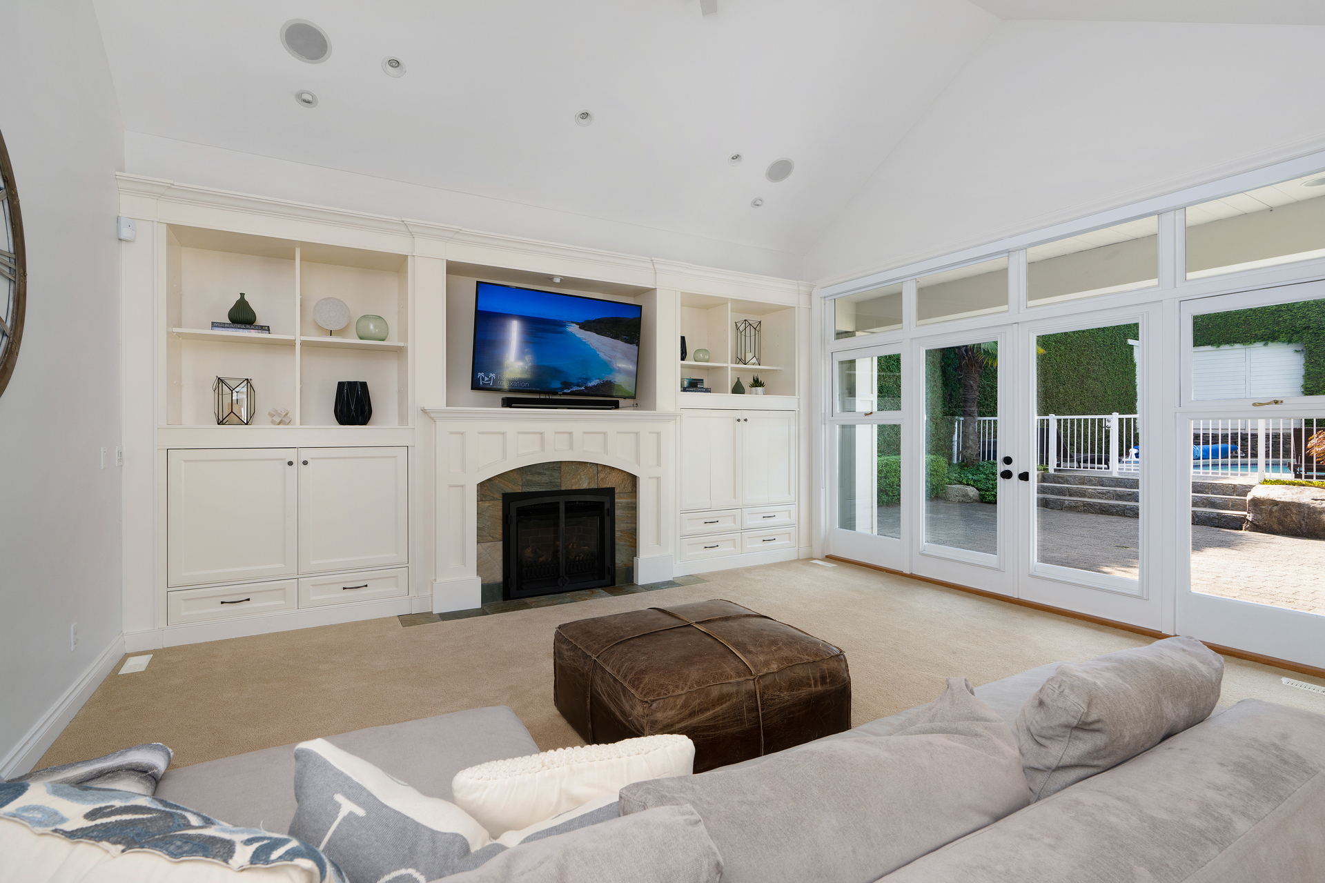 Living Area at 4682 Decourcy Court, Caulfeild, West Vancouver