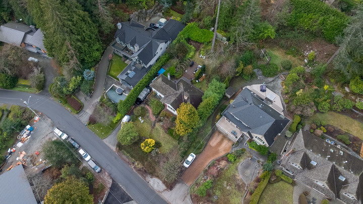 449-hillcrest-st-aerial-360hometours-08s at 449 Hillcrest Street, Westmount WV, West Vancouver