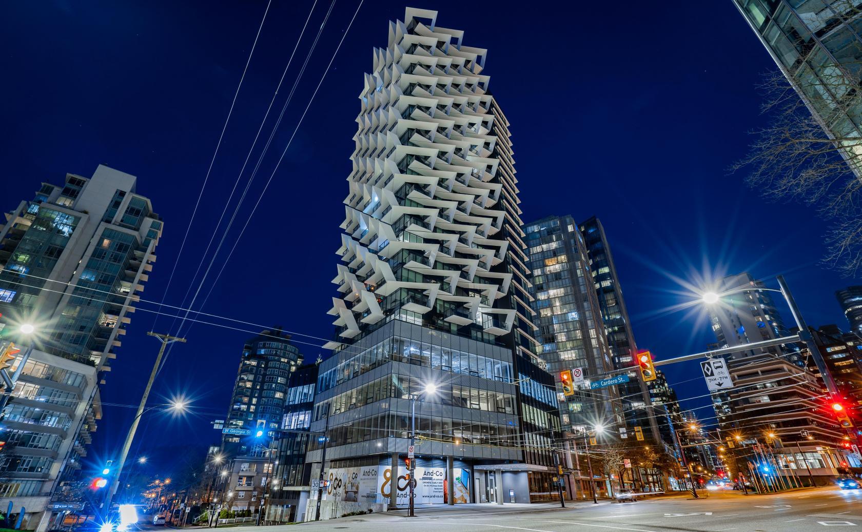 1403 - 620 Cardero, Coal Harbour, Vancouver West