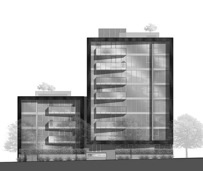 building2 at 1555 W 8th Street, Point Grey, Vancouver West