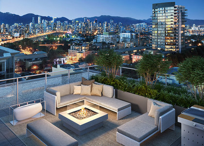 rooftop at 1555 W 8th Street, Point Grey, Vancouver West