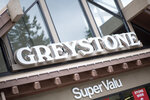 greystone-super-valu-sign at 7321 Halifax Street, Simon Fraser Univer., Burnaby North