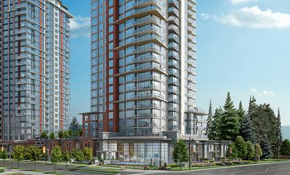 8 at 3093 Windsor Gate, New Horizons, Coquitlam