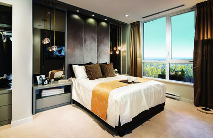 bdrm at 3093 Windsor Gate, New Horizons, Coquitlam