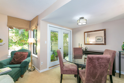 dining-room at 4737 Cedarglen Place, Greentree Village, Burnaby South