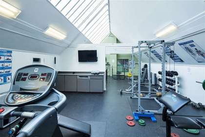 gym at 4737 Cedarglen Place, Greentree Village, Burnaby South