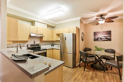 kitchen-off-dining-rm at #106 - 15298 20 Avenue, King George Corridor, South Surrey White Rock