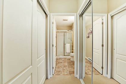 walk-thur-closet-off-ensuite at #106 - 15298 20 Avenue, King George Corridor, South Surrey White Rock