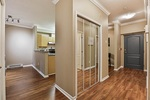 hallway at #106 - 15298 20 Avenue, King George Corridor, South Surrey White Rock