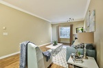 living-rm at #106 - 15298 20 Avenue, King George Corridor, South Surrey White Rock