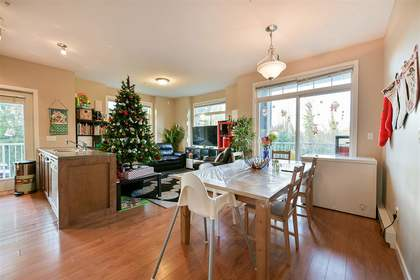 dining-off-living-rm at #210 - 13277 108 Ave, Whalley, North Surrey