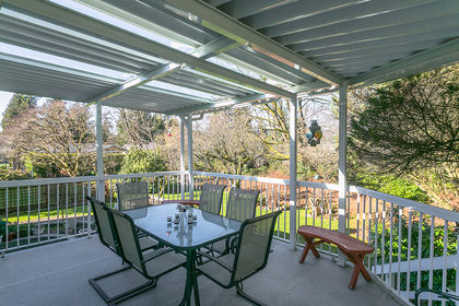 deck at 1731 Harbour Drive, Harbour Chines, Coquitlam