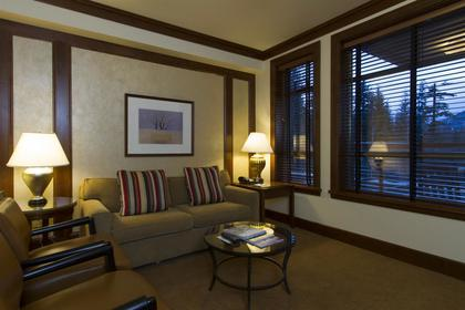 living-rm at #516 - 4591 Blackcomb Way, Benchlands, Whistler