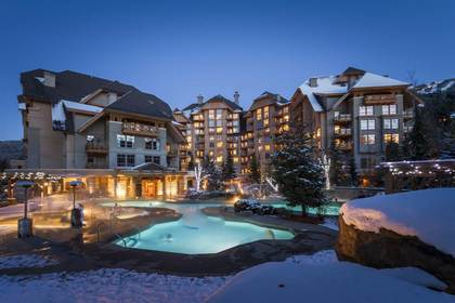 whistler4season-exterior-front at #516 - 4591 Blackcomb Way, Benchlands, Whistler