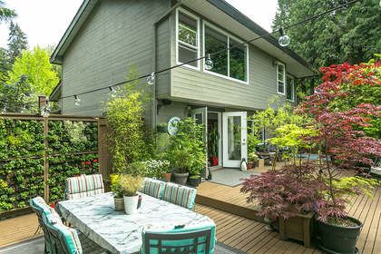exterior-back at 8413 Arbour Place, Nordel, N. Delta