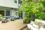exterior-deck-swing at 8413 Arbour Place, Nordel, N. Delta