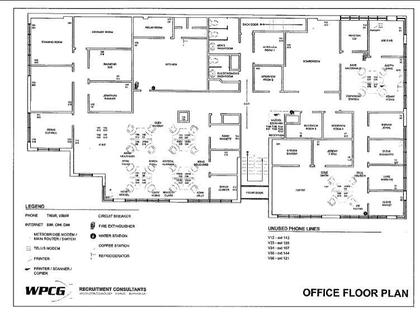 Floorplan at #305 #306 #307 #308 - 8988 Fraserton Court, Big Bend, Burnaby South
