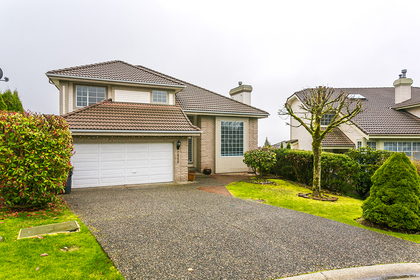 Exterior Front at 2888 Woodsia Place, Westwood Plateau, Coquitlam