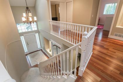 Front Entry & Staircase at 2888 Woodsia Place, Westwood Plateau, Coquitlam