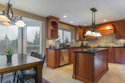 Kitchen & Eating Area at 2888 Woodsia Place, Westwood Plateau, Coquitlam