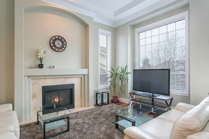 Living Room at 2888 Woodsia Place, Westwood Plateau, Coquitlam