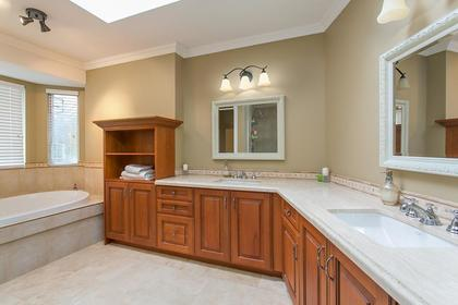 Master Ensuite at 2888 Woodsia Place, Westwood Plateau, Coquitlam