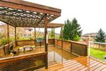 Deck at 2888 Woodsia Place, Westwood Plateau, Coquitlam