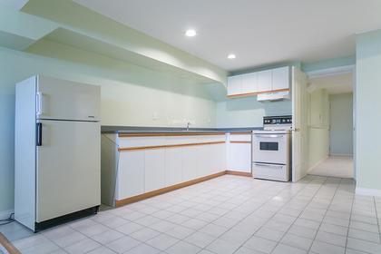 bsmt kitchen at 7589 Manzanita Place, Burnaby East
