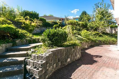 patio at 7589 Manzanita Place, Burnaby East