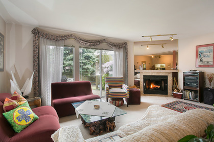 living room at 1613 Augusta Avenue, Simon Fraser Univer., Burnaby North