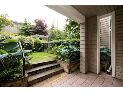 patio at #118 - 2088 Beta Avenue, Brentwood Park, Burnaby North