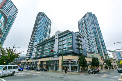 building exterior at #802 - 633 Abbott Street, Downtown VW, Vancouver West