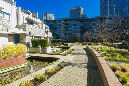 courtyard at #802 - 633 Abbott Street, Downtown VW, Vancouver West