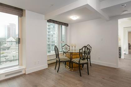 dining room at #802 - 633 Abbott Street, Downtown VW, Vancouver West
