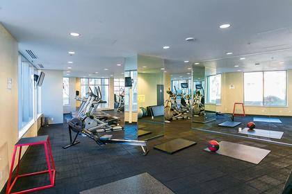 gym at #802 - 633 Abbott Street, Downtown VW, Vancouver West