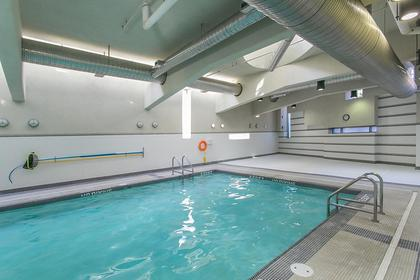 indoor swimming pool at #802 - 633 Abbott Street, Downtown VW, Vancouver West